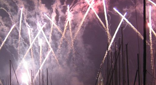 Nationale feestdag in Marseille