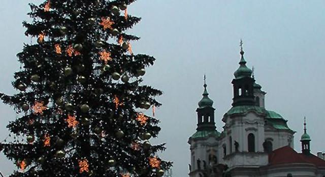 Kerstmarkten in Praag
