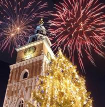 Nieuwjaarsavond in Krakau