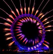 Oudejaarsavond in Londen