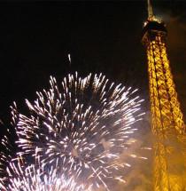 Oudejaar in Parijs