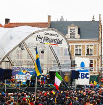 Vertrek van de Ronde van Vlaanderen