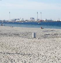 Stranden van Kopenhagen