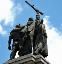 Monument voor het Sovjet leger