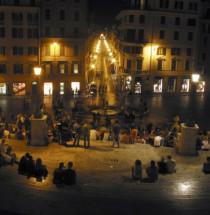 Spaanse trappen en Piazza di Spagna